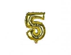 BANQUET Balónek nafukovací foliový č.5 MY PARTY, výška 30 cm