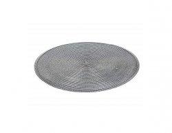 BANQUET Prostírání kulaté TONDO průměr 38 cm, šedé