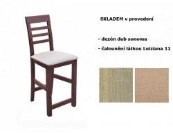 Barová židle 110, dub sonoma, Luiziana 11