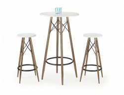 Barový stolek SB-10 bílý