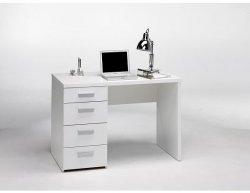Bílý psací stolek Plus 20