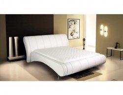 Čalouněná postel Milena 266, 180x200 cm, ekokůže 1.K800