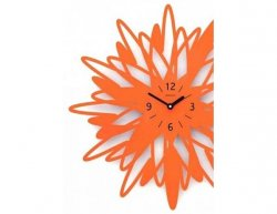 Designové hodiny D&D 304 Meridiana, černý lak