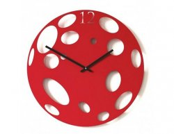 Designové hodiny Diamantini a Domeniconi Red Moon 50cm