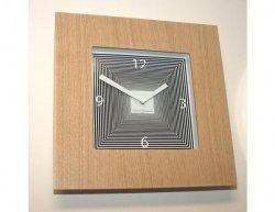 Designové hodiny Diamantini a Domeniconi Target dub 42cm