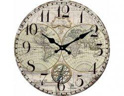 Designové nástěnné hodiny 14863 Lowell 34cm
