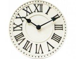 Designové nástěnné hodiny 5187wi Nextime v anglickém retro stylu 17cm