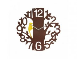 Designové nástěnné hodiny 5393BR Karlsson 42cm
