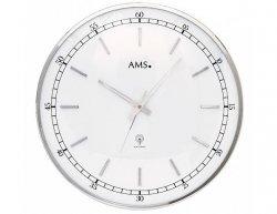 Designové nástěnné hodiny 5608 AMS řízené rádiovým signálem 40cm