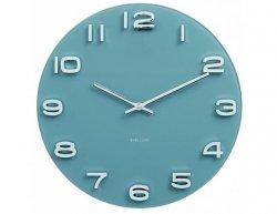 Designové nástěnné hodiny 5640BL Karlsson 35cm