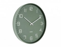 Designové nástěnné hodiny 5751GR Karlsson 40cm