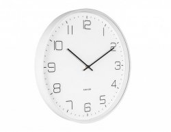 Designové nástěnné hodiny 5751WH Karlsson 40cm