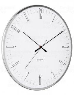 Designové nástěnné hodiny 5754WH Karlsson 40cm
