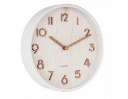 Designové nástěnné hodiny 5808WH Karlsson 22cm