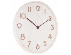 Designové nástěnné hodiny 5810WH Karlsson 60cm