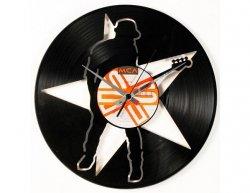 Designové nástěnné hodiny Discoclock 103 Baskytara 30cm