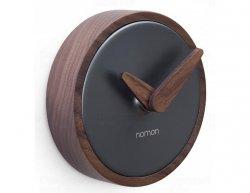 Designové nástěnné hodiny Nomon Atomo Graphite 10cm
