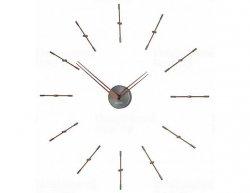 Designové nástěnné hodiny Nomon Merlin Graphite Small 70cm