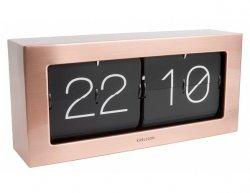 Designové nástěnné/stolní překlápěcí hodiny 5642CO Karlsson 37cm