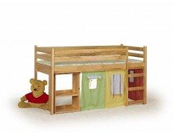 Dětská patrová postel Emi, borovice
