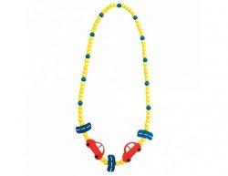 Dětský dřevěný náhrdelník, auto
