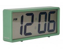 Digitální stolní i nástěnné hodiny/budík 5646GR Karlsson 18cm