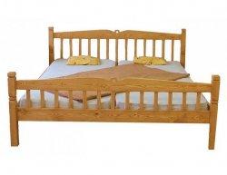 Dřevěná postel Classic dvoulůžková