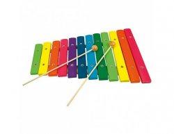 Dřevěný xylofon, 12 tónů
