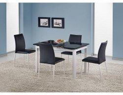 Jídelní stůl Alston bílo-černý
