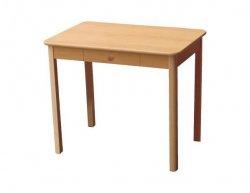 Jídelní stůl se zásuvkou JS4NŠ 90x60 cm