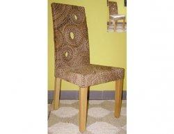 Jídelní židle Seattle-banánový list-borovice