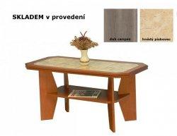 Konferenční stolek 8 dlažba, dub canyon