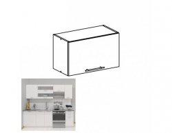 Kuchyňská horní skříňka FABIANA W - 60OK, bílá