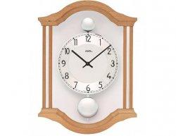 Kyvadlové nástěnné hodiny 7447/18 AMS 34cm