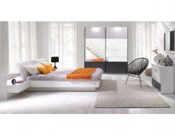 Ložnice Renato 1 bílá-šedá
