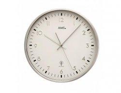 Nástěnné hodiny 5914 AMS řízené rádiovým signálem 32cm