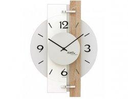 Nástěnné hodiny 9557 AMS 40cm