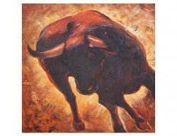 Obraz - Běžící býk II.
