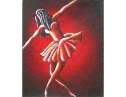 Obraz - Čerevená baletka