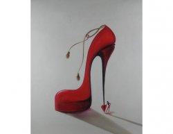Obraz - Červená bota