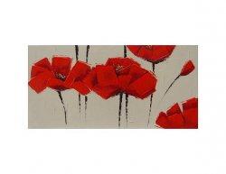 Obraz - Červené Květy I.