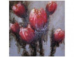 Obraz - Červené tulipány