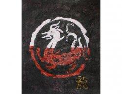Obraz - Čínský drak