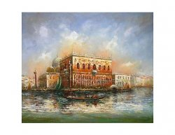 Obraz - Gondola na moři