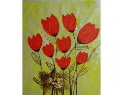 Obraz - Hrst tulipánů
