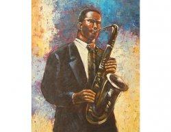 Obraz - Jazzman