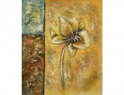 Obraz - Květ na stěně