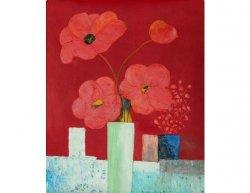 Obraz - Kytice červených květů