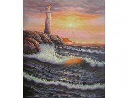 Obraz - Maják u moře
