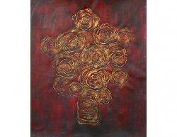 Obraz - Měděné květy